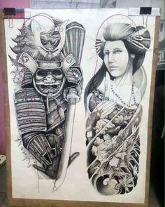 japanese tattoos for men Japanese Tattoo Symbols, Samurai Tattoo, Art Tattoo, Sleeve Tattoos, Japanese Tattoo Art, Arm Tattoos For Guys, Tattoo Styles, Japanese Tattoo, Tattoo Designs