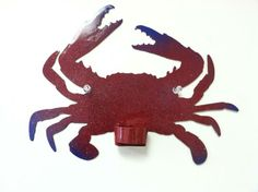 Crab tea candle holder