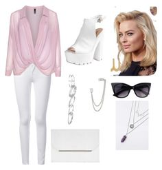 """Untitled #27"" by nazar-erginyavuz on Polyvore featuring Frame Denim, Manon Baptiste, Glamorous, BCBGMAXAZRIA, French Connection and Kendra Scott"