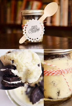 Oreo Cheesecake in a Jar | 24 Delicious Food Gifts That Will Make Everyone Love You