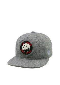 Top of the World St Louis Mens Grey Natural Adjustable Hat