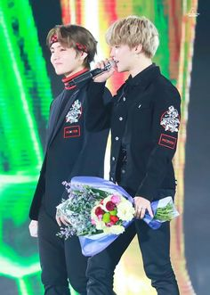180125 || #BTS 27th Seoul Music awards #V #JIMIN