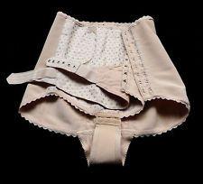 RARE 50s burlesque FETISH lingerie VINTAGE corset bondage girdle shaper briefs L
