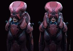 st-0023 by Ali Zafati | Sci-Fi | 3D | CGSociety