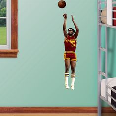 Austin Carr - Fathead Jr. Wall Graphic | Cleveland Cavaliers Wall Decal | Sports Home Decor | Basketball Bedroom/Man Cave/Nursery
