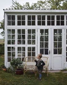 Outdoor Spaces, Outdoor Living, Summer Cabins, House In Nature, She Sheds, Glass House, Maine House, Cottage Homes, Garden Inspiration