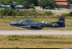 The Angry Cessna, the OA-37B Dragonfly in Colombian Air Force markings. The Dragonfly is a small counter-insurgency (COI...