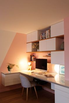 30 Trendy Home Office Furniture Ideas Dreams Interior Room Decoration, Interior Design Living Room, Interior Decorating, Bedroom Decor, Design Bedroom, Home Office Furniture, Furniture Decor, Steel Furniture, French Furniture
