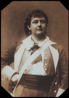 """The Gondoliers,""Rutland Barrington as Giuseppe, 1889, original production"
