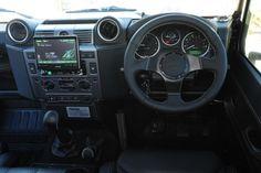 Twisted Defender interior