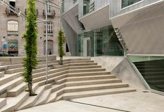 Colegio de Arquitectos de Galicia , Vigo (España) por Irisarri + Piñera