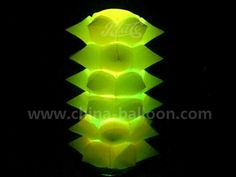 inflatable chestnut / inflatable led  cone / inflatable led pillar column