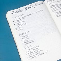 Brainstorming my Filofax Bullet Journal set-up