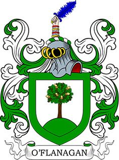 O�Flanagan  Family Crest