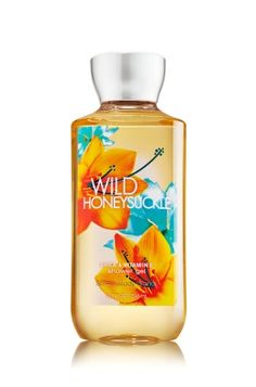 Wild Honeysuckle - Shower Gel - Bath & Body Works - Wash your way to softer, cleaner skin with a rich, bubbly lather bursting with fragrance. Moisturizing Aloe and Vitamin E combine with skin-loving Shea Butter in our most irresistible, beautifully fragranced formula!