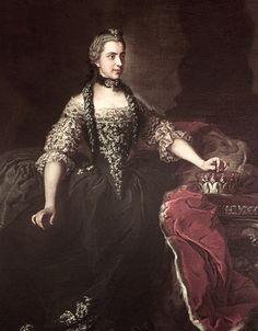 Isabella Maria of Parma (1741-1763)