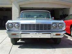 My first car....64' Chevy Impala SS