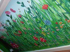 Flowers in the Secret Garden Mural