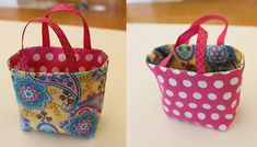 Easter Treat Bags | How to Sew