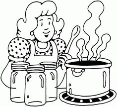 soup bowl coloring page for coloring pages