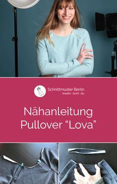 """Nähanleitung Pullover """"Lova"""""""