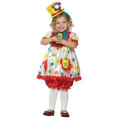 Clown Girl Costume Halloween Fancy Dress #fancy #dress #halloween #costume #girl #clown