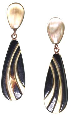 Mokka earrings by NATURE Bijoux