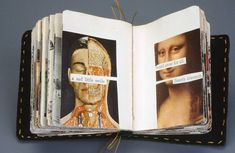 Altered Book Art - Mixed Media - Artist Books | Lisa Kokin Artist