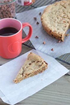 Cinnamon Chip Biscoff Cookie Cake