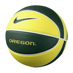 Nike Oregon Ducks Mini Basketball, White Oth