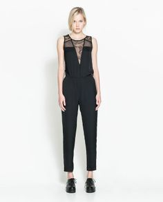 Zara jumpsuit, $60        Pinning made easy! http://www.pinny.co Pin any photo in any website with a click.