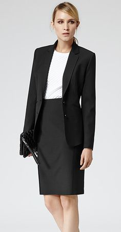 Medical School Interview Outfit Women Pencil Skirts Ideas For 2019 Business Dresses, Business Outfits, Business Attire, Business Casual, Sorrento, Elie Saab, Casual Chic, Medical School Interview, Pencil Skirt Casual