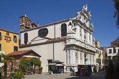 Chiesa di Santa Maria del Giglio e il campo Venezia - Churches in Venice-