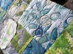 on a clear day ~ art quilt   Flickr - Photo Sharing!