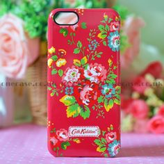 "This beautiful Cath Kidston Case for iphone 5 will decorate, protect your iPhone5; Fashionable and uniqueness, gives your iphone5 a new look. You are looking at a piece of authentic ""Cath Kidston"" iphone case with lovely pattern on top. So lovely & special, super gift for friends!"