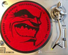 Original Loriz Sounds Records Slipmat in red ( the other one was orange) Vinyl Store, Vienna, Orange, The Originals, Red