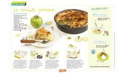 Le crousti-pomme : une recette de gâteau aux pommes pour l'automne! (Extrait du magazine Astrapi n°834, pour les enfants de 7 à 11 ans)