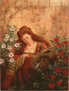 BEAUTY AND THE BEAST BY RUTH SANDERSON