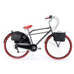 700c Huffy Supreme Men's Cruiser Bike, Charcoal