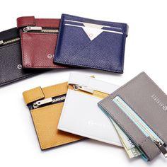 """現代人が""""いま""""使いたい財布 – これまで当たり前だった「開く」という動作を省いた、機能美あふれる薄い財布"""