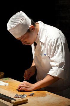 寿司職人、職人