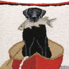DAILY discussion, April 28, 2016 Black Dog - RUG HOOKING DAILY