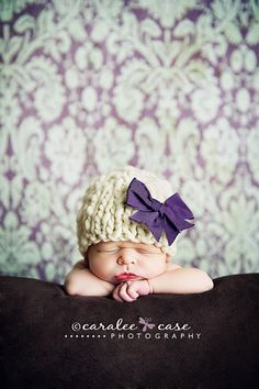 Knitting Pattern Newborn Classic Beanie Baby Hat (PDF) For Bulky to Super Bulky…