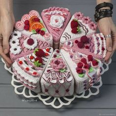Best 12 Crochet Fruit – Lime slices pcs) – Seasons – Eco-friendly Decoration – Decor – Play food – Сrochet toys – play kitchen – Ready to ship – SkillOfKing. Crochet Cake, Crochet Fruit, Crochet Food, Cute Crochet, Crochet Crafts, Crochet Flowers, Crochet Dolls, Crochet Projects, Crochet Toys Patterns