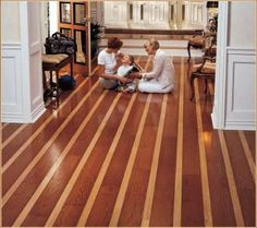 Multi Tone Wood Flooring Pinterest Woods House And Living Rooms