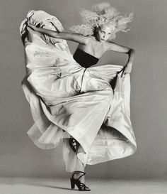 The Art of Fashion, March 1994. Photographed by Richard Avedon. #AOF20yrs #tbt