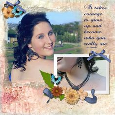 Here is my layout for Monday. This was Janelle at her matric farewell. Digital Scrapbooking, Layouts, Crochet Earrings, Take That, Challenges, Elegant, Gallery, Girls, Classy