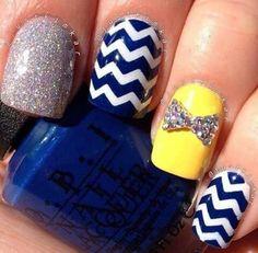 Yellow. Blue