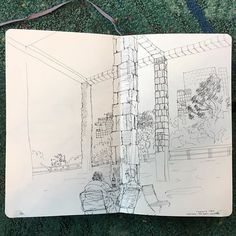 Pictured: #throwback to a hasty sketch from last year with @koreadanger at the @thegetty.  Boarding my flight to LAX for the first day of my summer travels. Through the next month you can catch me in LA, Santa Cruz, Atlanta, DC, Charlottesville, Boston, Conchord, NYC, and Chicago. I look forward to seeing you if our adventures converge <3  I'll be in LA from today to June 6, with a quick visit up to the Bay for a moment in between. Let's see and do art together, and eat ALL the tacos 😘