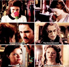 #SkinDeep parallels. . . CAN YOU HEAR ME CRYING!? Rumple Pretending to be Killian!!! He did a great job
